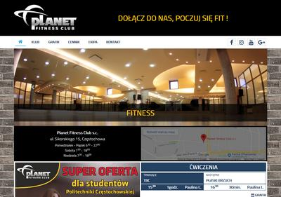 Planet Fitness Club - fitness i siłownia